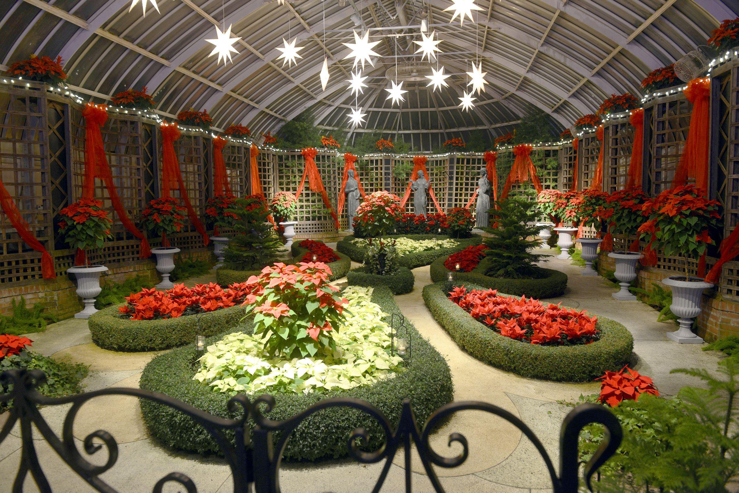 1934 39 S 39 Winter Wonderland 39 Inspires 2014 Phipps Winter Flower Show Design Pittsburgh Post Gazette