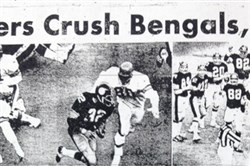 The Pittsburgh Press sports front for Dec. 15, 1974