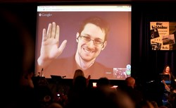 Former National Security Agency contractor and whistleblower Edward Snowden will speak to University of Pittsburgh students next month via live video stream.