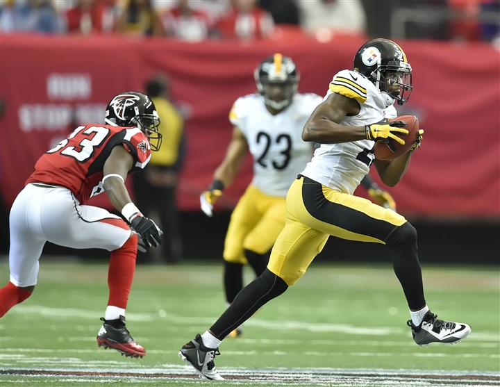 20141214SteelersSports13 Steelers' William Gay during the Dec. 14 game against the Falcons in Atlanta.