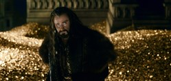 "Richard Armitage as Thorin in ""The Hobbit: The Battle of the Five Armies."""