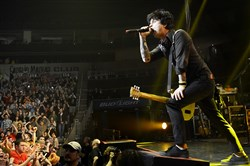 Green Day frontman Billie Joe Armstrong performs at the Consol Energy Center, now the PPG Paints Arena, in 2013.