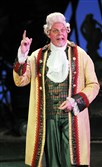 "Tim Hartman is Mr. Fezziwig in Pittsburgh CLO's ""A Musical Christmas Carol."""