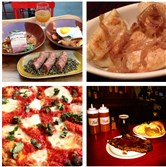 "For Best of Munch 2014:  Clockwise from top right: Pierogies at the Dorothy Six Blast Furnace Cafe in Homestead; a platter of ribs and the ""Hillbilly Club"" sandwich at South Side BBQ Company; the Red Margherita pizza at Colangelo's in the Strip District; small plates of Duck Confit Steak Fries, House Made Sausage Links, Beer Braised House Pastrami and snifter of Helltown Idle Hands Double IPA at Il Tetto, the rooftop beer garden at Sienna Mercato, Downtown."