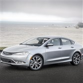 The 2015 Chrysler 200C borrows Dodge Dart design cues, and the result is a pretty sedan. But in a quick side glance, shades of the old oval Ford Taurus spring to mind.
