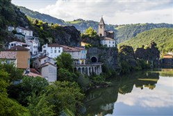 Ambialet, France, in the Midi-Pyrenees.