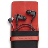 Plantronics' BackBeat GO 2 Bluetooth earbud headphones feature a sweat-proof design for runners.