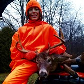 Caleb Norman, 14, of New Brighton, took this 8-point buck Dec. 6 near Clarion, Pa.