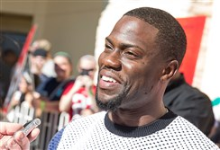 "Kevin Hart in ""The Wedding Ringer."""