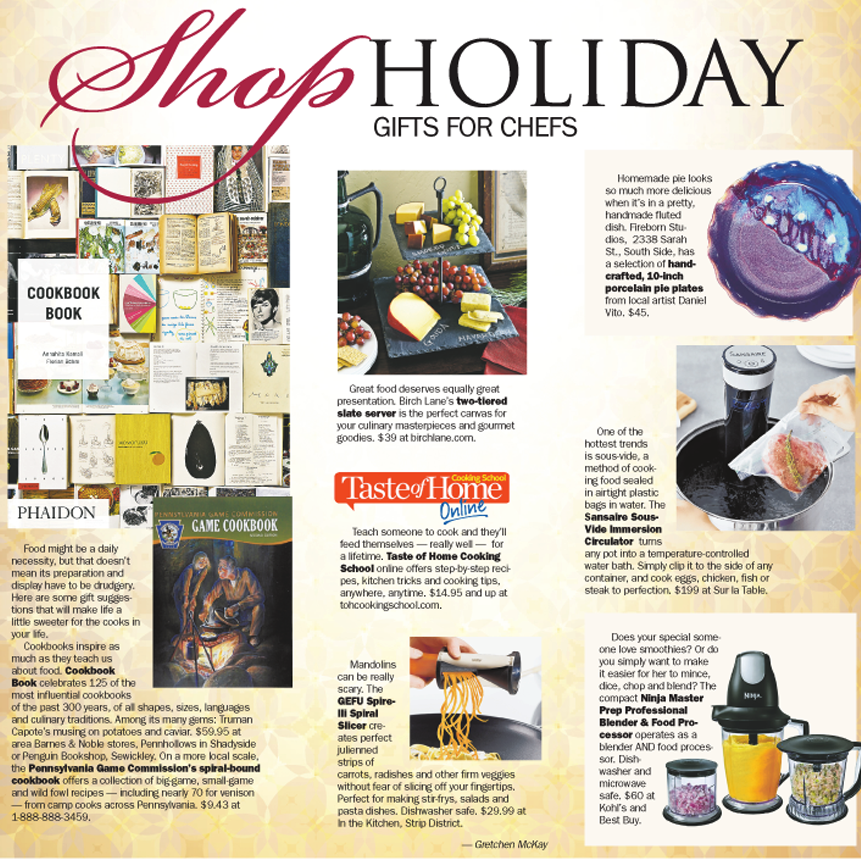 Shop Holiday Cook Up These Gifts For Chefs Pittsburgh