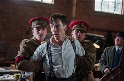 "Benedict Cumberbatch stars in ""The Imitation Game."""