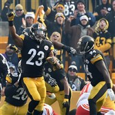 Steelers safety Mike Mitchell has come under the microscope the past two games for perhaps celebrating a bit too jubilantly, but it hasn't cost his team like some others in the past.