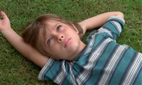 "Ellar Coltrane at age six in a scene from the film,""Boyhood."""
