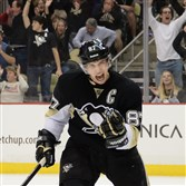 Sidney Crosby is tied for third in the NHL with 51 points, along with Penguins teammate Evgeni Malkin.