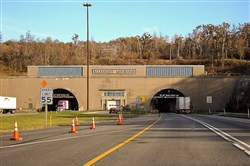 The first Allegheny Tunnel, which currently carries westbound traffic, was built in the late 1930s and the second opened in 1965.
