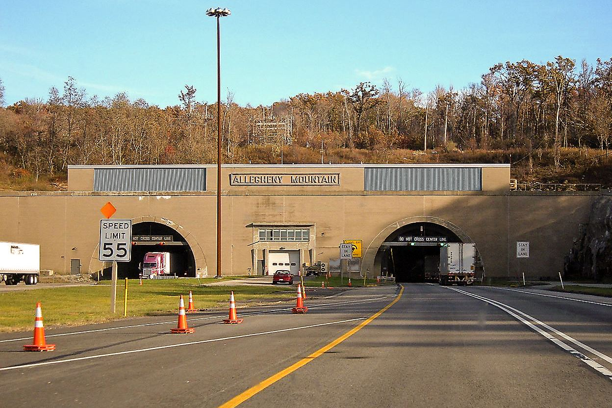 Pa Turnpike Considers Plans To Replace Allegheny Tunnels