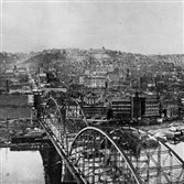 Allegheny City in 1904, the year after Wolverine Supply & Mfg. Co. was founded there.
