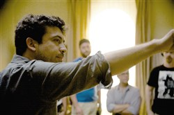 "Director Alfonso Gomez-Rejon came to Pittsburgh in June to film ""Me and Earl and the Dying Girl."""