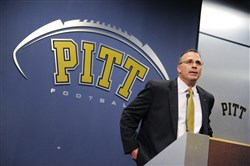 University of Pittsburgh football coach Pat Narduzzi.