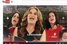 "A YouTube screen shot from the new Weight Watchers ad campaign ""Help With The Hard Part."" Ana Gasteyer leads a group of Weight Watchers coaches through a dieting version of ""The 12 Days of Christmas."""