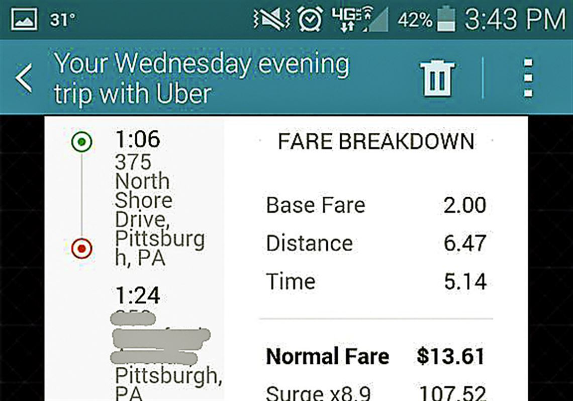 uber driver rates las vegas