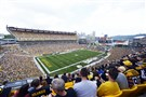 The construction will not interfere with the view of the Downtown skyline from the Heinz Field seats.
