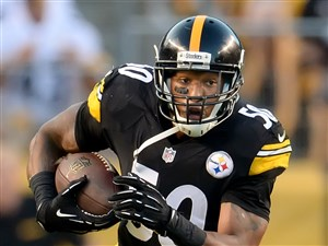 Steelers linebacker Ryan Shazier intercepts pass during a 2014 exhibition game at Heinz Field.