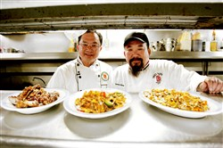 Frank, left, and Tommy Wong of Trey Yuen in Louisiana.