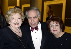 Nadine Bognar with John and Virginia DiPucci.