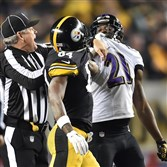 The tension is always high in a Steelers-Ravens matchup — Antonio Brown and Lardarius Webb have a standoff in a playoff game in January — but it could be