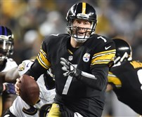 The Steelers' odds to win the Super Bowl behind Ben Roethlisberger are 20-1.