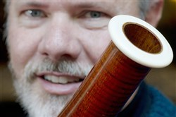 Jim Rodgers, principal contrabassonist with the Pittsburgh Symphony Orchestra, plans to replace the bell ring of his instrument, which is made of ivory, with another material.