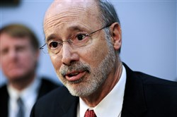 "Gov. Tom Wolf called the conditional approval a ""critical step."""
