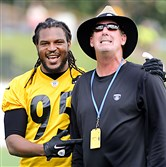 Entering training camp, new Steelers defensive coordinator Keith Butler will need Jarvis Jones, one of his most important players, to begin the process of stepping up at linebacker.