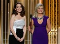 "Golden Globes hosts Tina Fey, left, and Amy Poehler poked fun at celebrities and celeb culture during the broadcast of Sunday's ""72nd Annual Golden Globe Awards"" on Sunday, Jan. 11, 2015, at the Beverly Hilton Hotel in Beverly Hills, Calif. (AP Photo/NBC, Paul Drinkwater)"