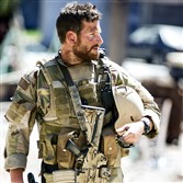 "Bradley Cooper stars as Chris Kyle in the Oscar-nominated ""American Sniper."""