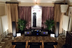 GoldenEar Demo Room at 2015 CES.