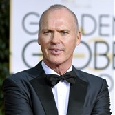 "Michael Keaton is nominated for ""Birdman."""