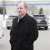 Former Shenango treasurer and secretary Brian Tanner waived a preliminary hearing today.