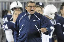 Penn State plans to recognize the 50th anniversary of Joe Paterno's first win at the Sept. 17 game against Temple at Beaver Stadium.