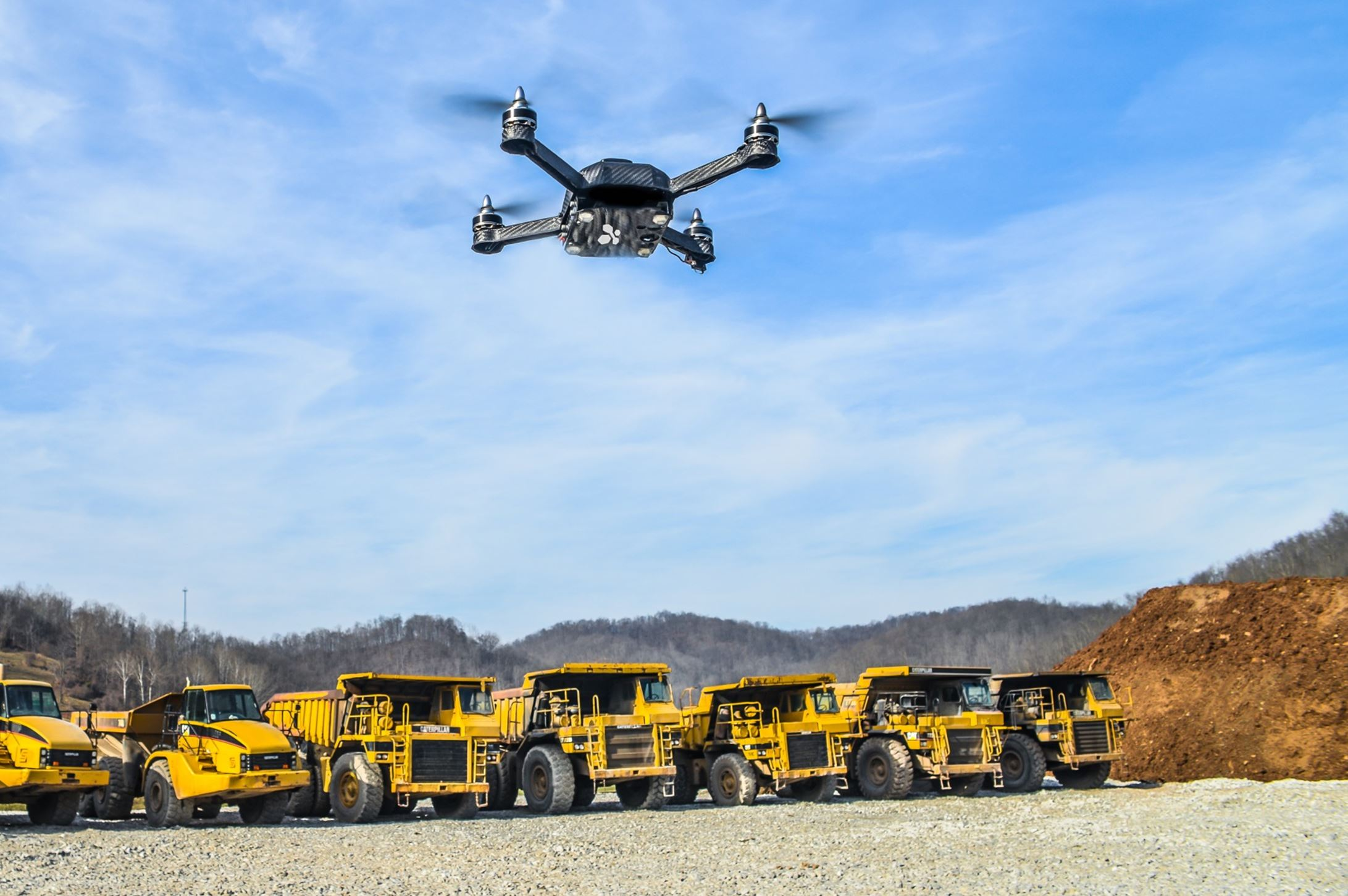 20150120Drones East Liberty-based Identified Technologies created an automated drone and docking system for gathering data at industrial sites, especially shale gas operations.