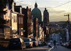 A recent report categorized 55 percent of the Pittsburgh-area population as middle class in 2014, down from 57 percent in 2000.