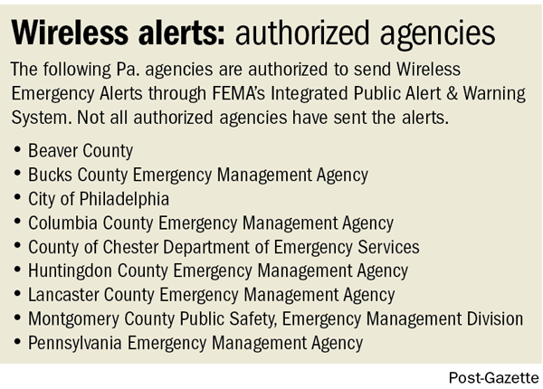 Alert system's flaws highlighted during Jan  5 emergency near