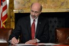 Gov. Tom Wolf's plan, unveiled in early March, includes $1 billion in new funding for education and reductions to the corporate tax rate and school property taxes.