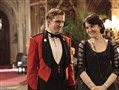 Michelle Dockery and Dan Stevens as Lady Mary and Michael Crawley. His character died in a car crash last season.