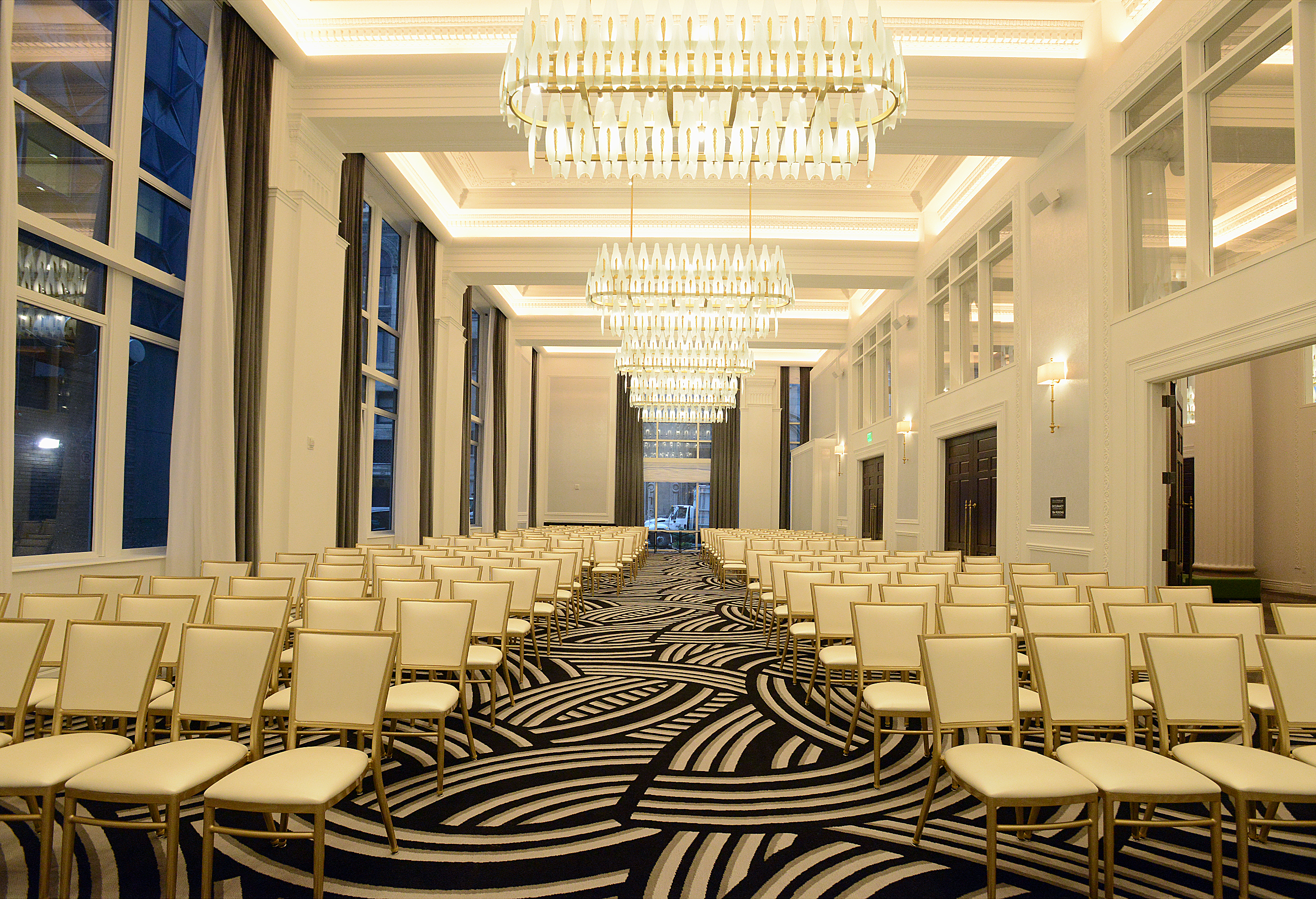 Hotel Monaco comes with a colorful twist and a unique design ...