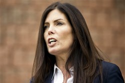 Attorney General Kathleen Kane speaks during a news conference Jan. 21 in Philadelphia.