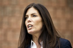 Carolyn Myers, spokeswoman for Attorney General Kathleen Kane, pictured, could not explain the reason for the dismissal of James Barker.