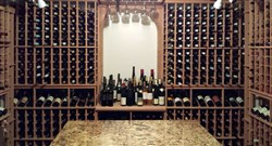 The empty wine cellar of  Arthur Goldman, the lawyer who sold fine wines from his home near Philadelphia, Pa.