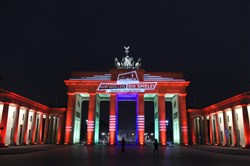 The Brandenburg Gate in Berlin. Germany has the most powerful passport in the world, allowing its residents access to 177 countries without a visa. The U.S. is among countries that rank fifth in the world with its passport, allowing access to 173 countries without a visa.